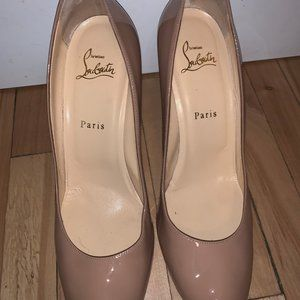 SIMPLE PUMP NUDE - LOUBOUTIN